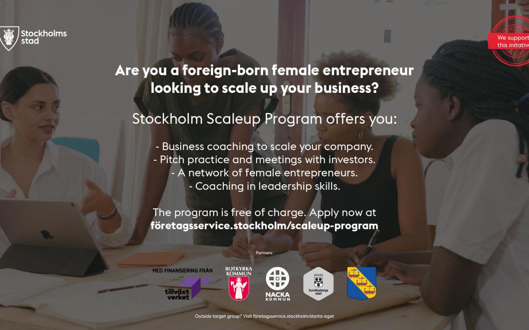 Stockholm Scaleup Program